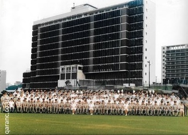 1986 staff BMH Hong Kong with Colonel Ron Stewart CO and Lt Col N Russell Matron