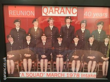 A Squad March 1978 Intake Photo QARANC