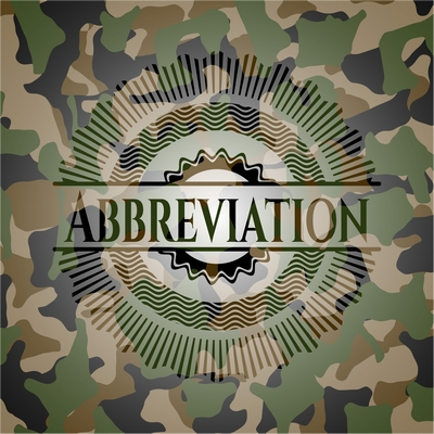Army Military Abbreviations Acronyms Slang Words