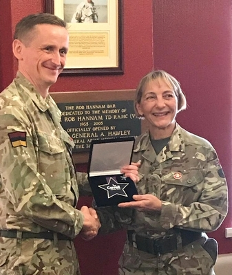 Army Reserve Nurse Wins Cavell Star Award CSA