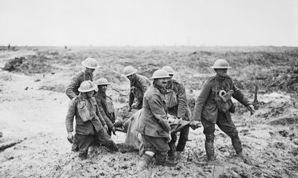 Casualty Evacuation Battle of Passchendaele