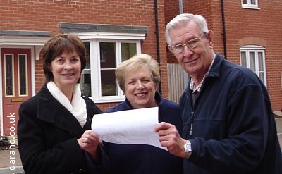 Colchester Borough Councillor Pauline Hazell Rosemary Tony Jewers map Sobraon Barracks and Military Hospital
