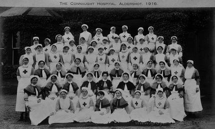 Connaught Military Hospital Aldershot 1916