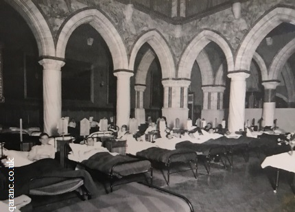 Dining Room 22 bed Medical Ward Mount Stuart WW1
