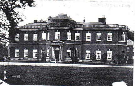 Egginton Hall near Derby Derbyshire World War One Auxiliary Hospital