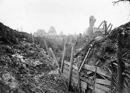 Gommecourt trench 1917 World War One