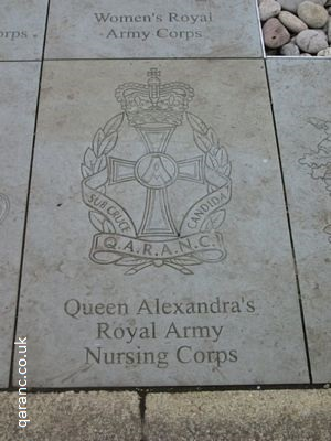 Heroes Square NMA QARANC Paving Stone Slab Remembrance National Memorial Arboretum