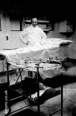 Hospital Ship Alan Rigg in the Surgery 1941