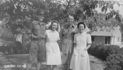India RAMC Doctors QARANC Nursing Sisters 1946 1947