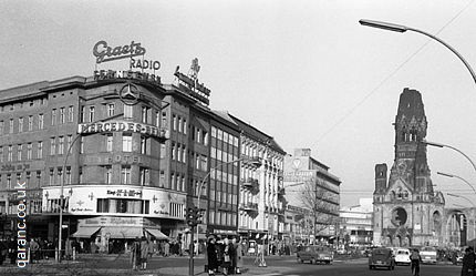 Kurfurstendamm Avenue Berlin Germany after Second World War