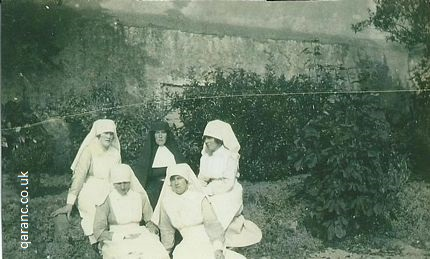 Nun with world war one nurses