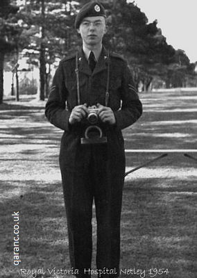 Photographer C H Ted Tedman RAF Physiotherapist Netley Hospital 1955