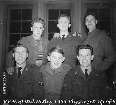 Physiotherapists 1954 Netley Hospital