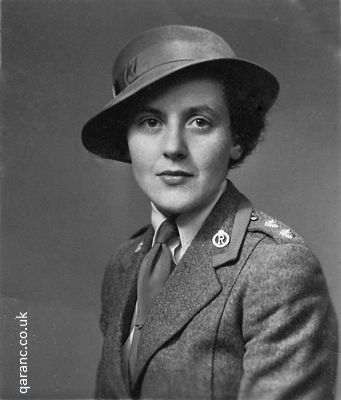 QA Reserve Uniform WW2 Sister Jean Ross