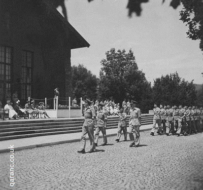 RAMC Corps Day Parade 1953