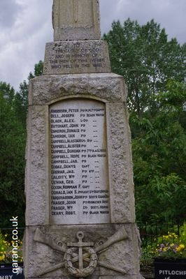 Rifles Cross Wreath War Memorial