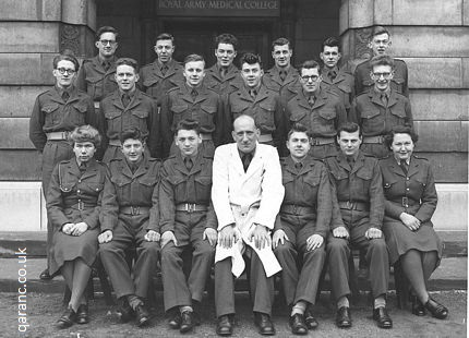 Royal Army Medical College Millbank Lab Tech Course