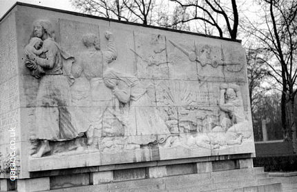 Russian Memorial civilian women children babies World War Two