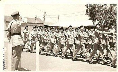 Soldiers on Parade Cyprus