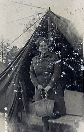 Tent Accommodation nurses world war two