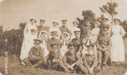Walmersley Greater Manchester World War One nurses medics
