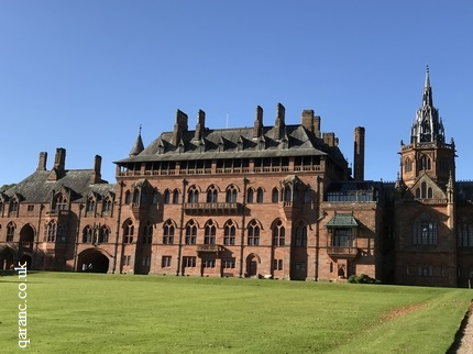 World War One Naval Hospital Mount Stuart House Isle of Bute