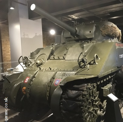 American tank World War Two