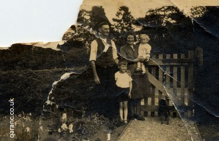 Charles Norman Cleal family 1934