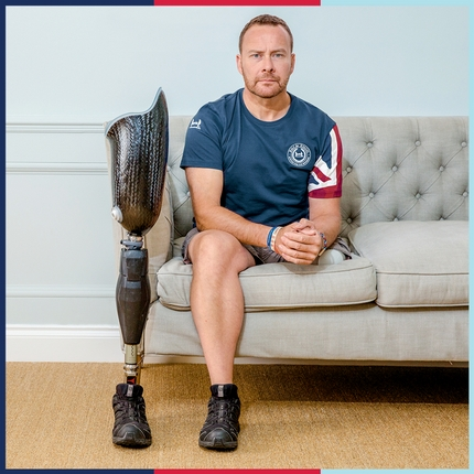 Help for Heroes Model Craig Gadd