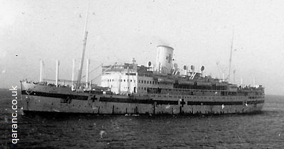 hospital ship amra at aden 1941
