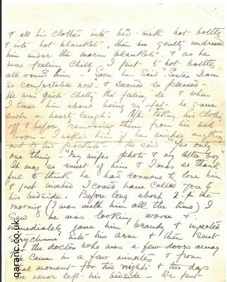World War 1 Letters to Loved es From Nurses To Widows