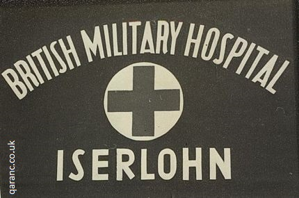 sign British Military Hospital