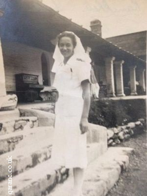 Sister Constance Dotterel Mary Wort QAIMNS 14th General Hospital July 1942 convalescent section