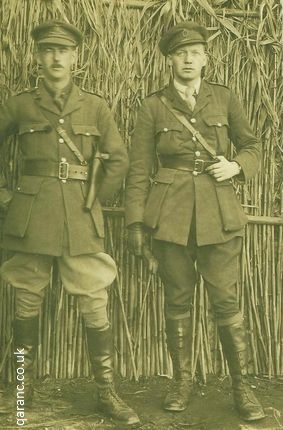 two officers world war one salonika alan clark md royal army medical corps