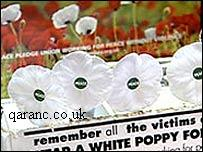 White Remembrance Poppy