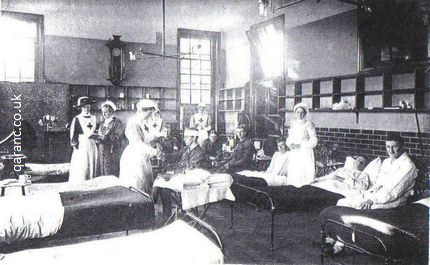 Woodbridge School Red Cross Auxiliary Hospital World War One Common Room Infirmary